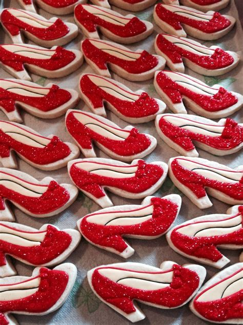 ruby slipper cookies 17 best images about clothing cookies on as