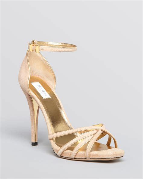 beige high heel sandals max mara platform sandals high heel in beige