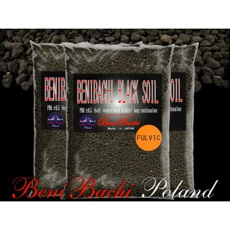 Benibachi Black Soil benibachi black soil normal fulvic 5 kg caridina pl