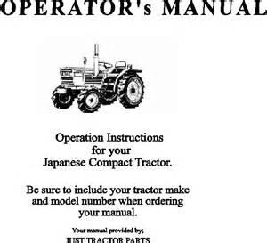 operator s manuals