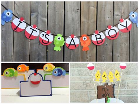 Fish Themed Baby Shower by Fishing Themed Baby Shower Decorations And Favors