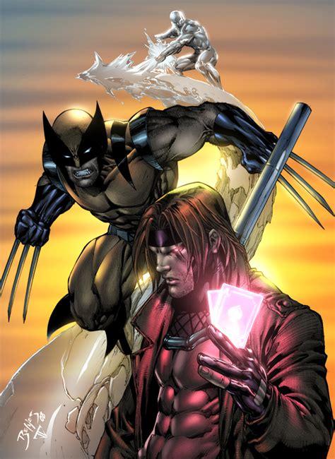 Kaos Hello Wolverine 01 wolverine gambit by benes by juan7fernandez on deviantart
