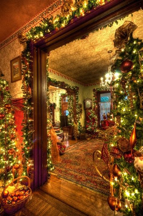 christmas decorations luxury homes 107 best christmas victorian images on pinterest
