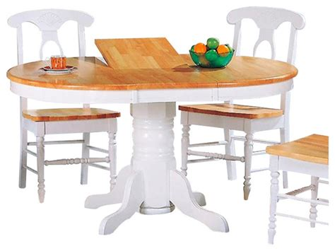 white pedestal table with leaf coaster damen oval pedestal table with leaf in and