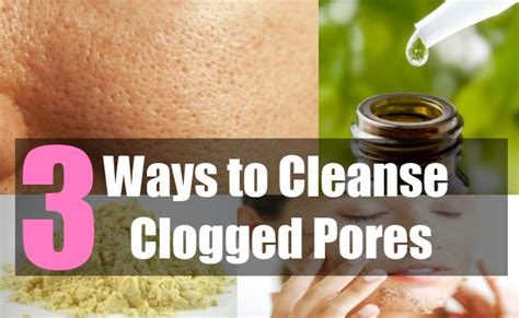 How To Detox Your Pores clogged pores on ordinary pics