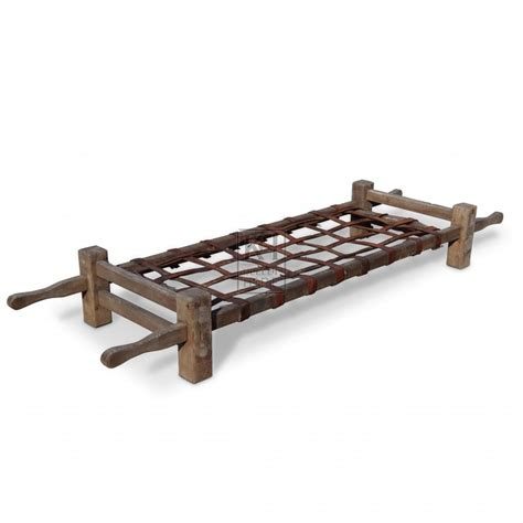 stretcher bed beds prop hire 187 wooden stretcher bed keeley hire