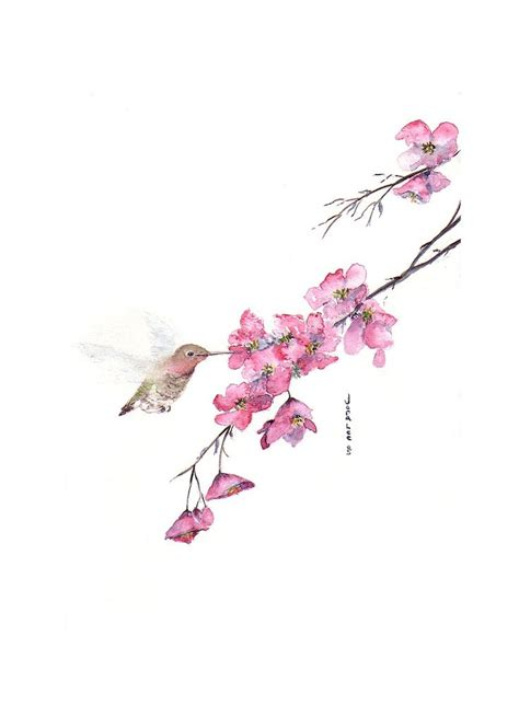 watercolor cherry blossom tattoo suni watercolor cherry blossom cherry blossoms cherry