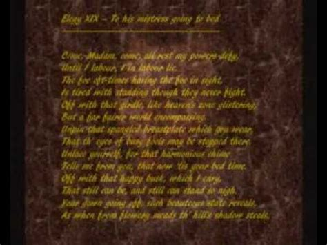 to his mistress going to bed john donne 1572 1631 poem to his mistress going to