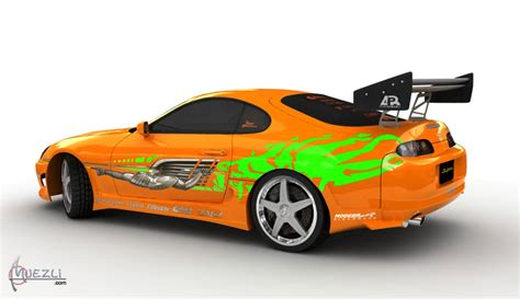 fast and furious supra toyota supra fast and the furious high poly 3d car