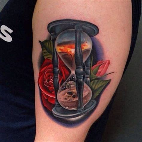 hour glass tattoos the meaning of a hourglass inkdoneright