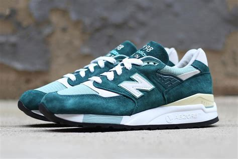 New Balance5 by New Balance 998 Quot Emerald Quot Hypebeast