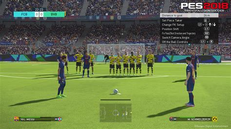 Ps4 Pro Evolution Soccer 2018 Pes 2018 kicking another year of improvements pro evolution
