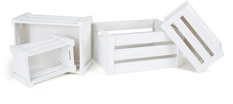 cassetta di legno cassette di legno bianche