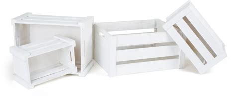 cassette di legno cassette di legno bianche