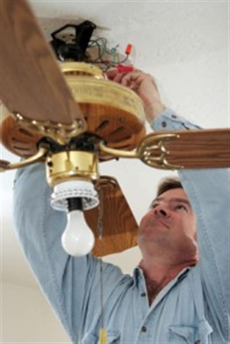 ceiling fan repair houston wesco systems electrical services houston electrician