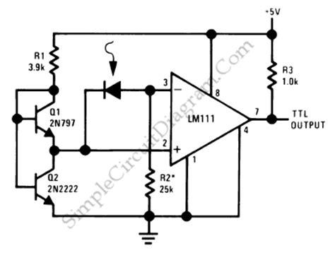 photodiode diagram precision photodiode comparator simple circuit diagram