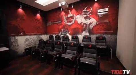 alabama football locker room alabama releases tour of new football facilities saturday south