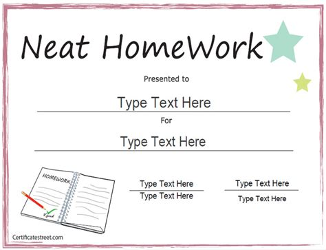 education certificate templates it is compulsory for every student to complete their