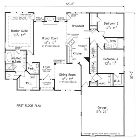 Frank Betz Floor Plans by Wallace Home Plans And House Plans By Frank Betz Associates
