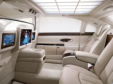 Maybach Interior Pictures Cars N Bikes