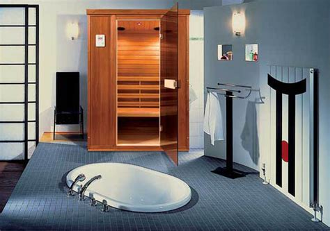 sauna bathroom sauna with infrared heater contemporary addition to