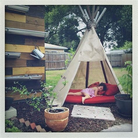 backyard tipi homemade teepee they are 2x2 stakes about 10ft length