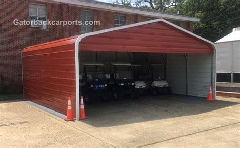 Closed Carport Carport Gallery Gatorback Carports