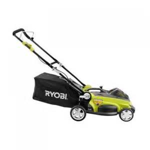 battery powered lawn mower home depot ryobi ry40100a 40 volt lithium ion cordless lawn mower