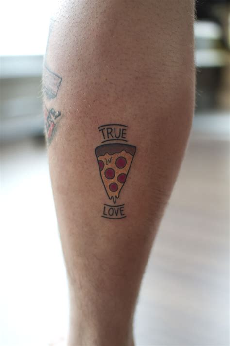 valentine tattoo true pizza for s day by