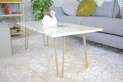 how to a marble coffee table diy marble coffee table