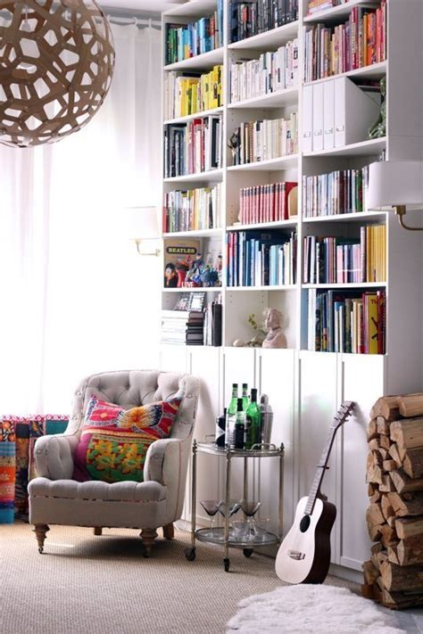floor to ceiling shelves ikea ikea billys 10 ways the world s most versatile bookcase