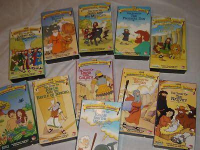 Bible Story Book 1 Set 4pc rebekahproctor the beginners bible vhs set lot of 11
