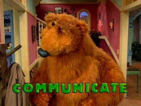bear in big blue house image bear in the big blue house communicate jpg muppet wiki fandom powered by
