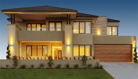Guest Home Floor Plans by Luxury Australian Double Storey Residential House Home