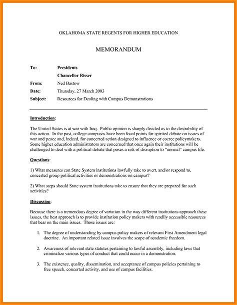 Apa Resume Format by 9 Apa Memorandum Format Driver Resume