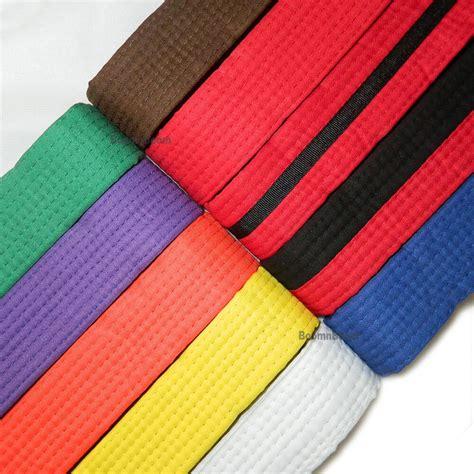 karate color belts new taekwondo belt karate wrap belt martial arts