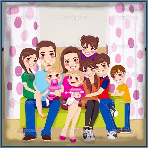 imagenes animadas de una familia feliz bellas imagenes de ni 241 os con su familia imagenes de familia