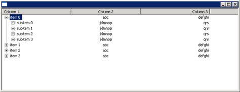 pattern java multiline multi line treetable treecolumn treetable 171 swt 171 java