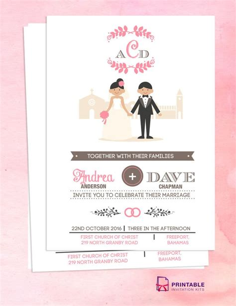 201 best images about wedding invitation templates free