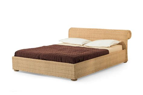 letto rattan letto matrimoniale in rattan professor brown