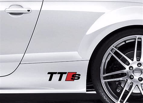 Bmw Cruiser Aufkleber by Product 2x Audi Tts Vinyl Body Decal Sticker Sport Racing