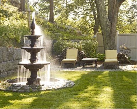 water fountain designs outdoor garden water fountains houzz