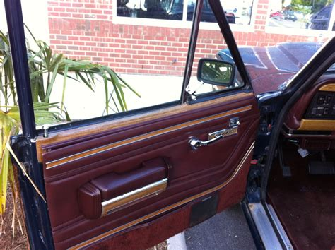 1987 jeep wagoneer interior 1987 jeep grand wagoneer interior pictures to pin on