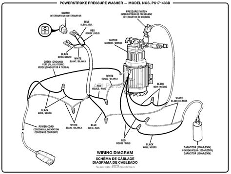 homelite ps171433d pressure washer parts diagram for