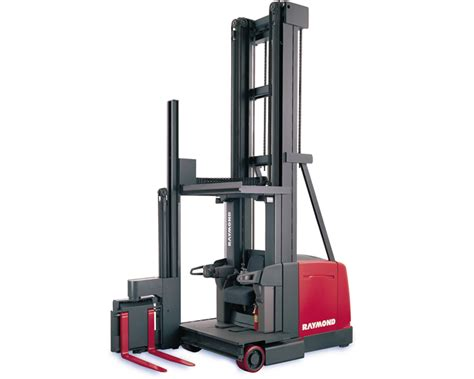 Raymond Swing Reach Forklift Brownlie Design Inc