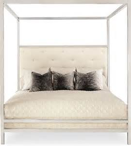 Black Metal Canopy Bed King Landon Metal King Poster Bed Contemporary Canopy Beds By Bernhardt