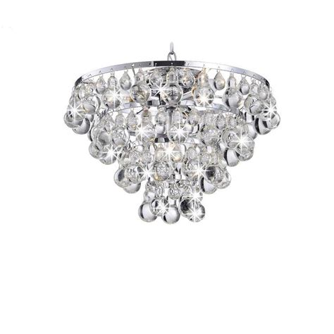 overstock chandelier tranquil chrome plating chandelier with smooth crystals