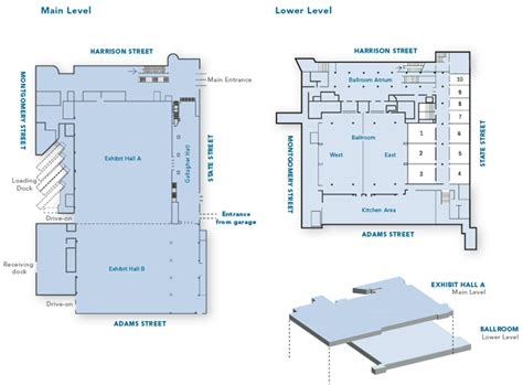 convention center floor plans floor plans convention center the oncenter nicholas j