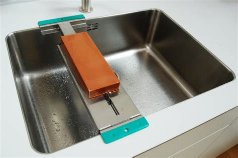 Stainless Steel Sink Scratches Easily by Sink Bridge
