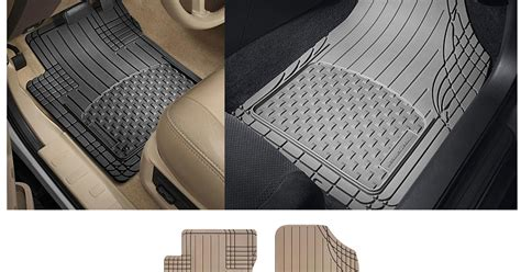 coupons and freebies set of 4 weathertech premium all vehicle floor mats 29 69 reg 54 99